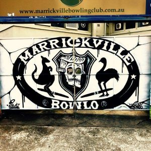 Peter D'Elia & Trevor Brown @ Marrickville Bowling Club